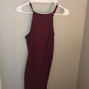 Macy's Dresses - Burgundy Body Con Dress